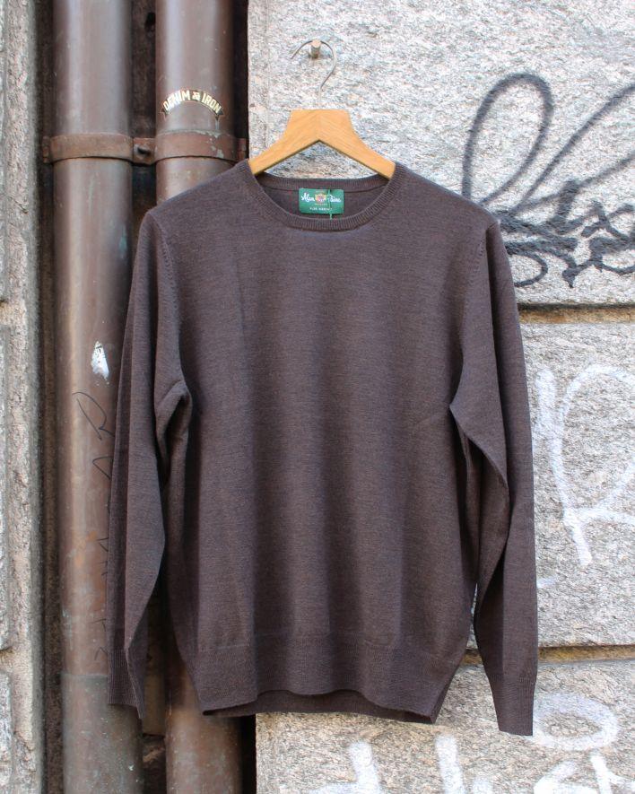 Alan Paine Radstone Crew Neck Merino Sweater braun_1
