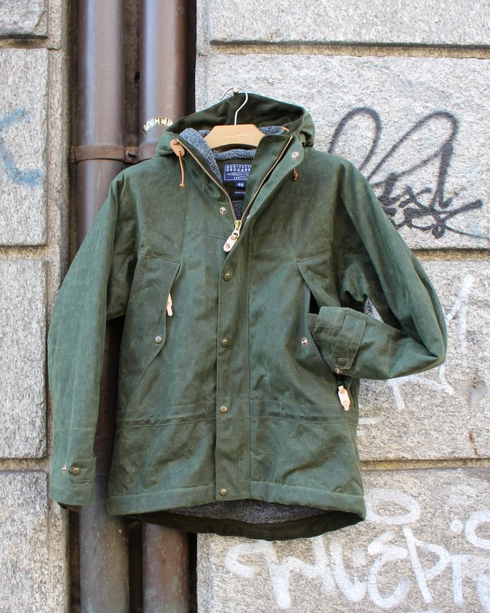 Ceccarelli Mountain Jacket olive_1