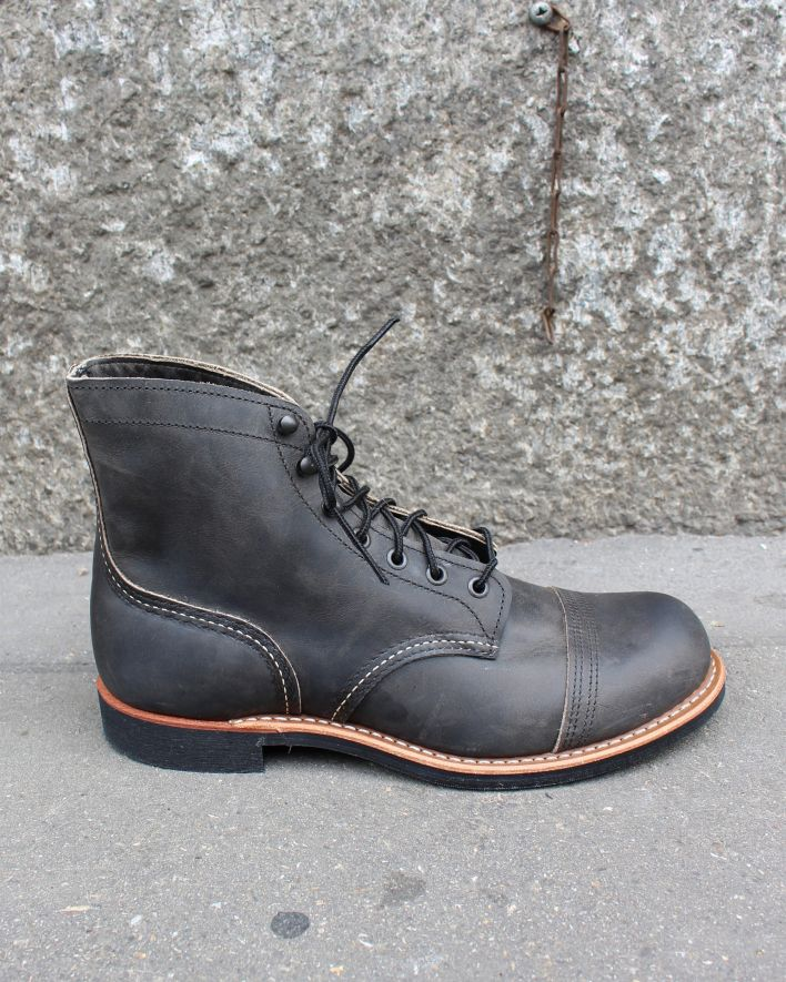 Red Wing 8086 Iron Ranger charcoal rough & tough_1