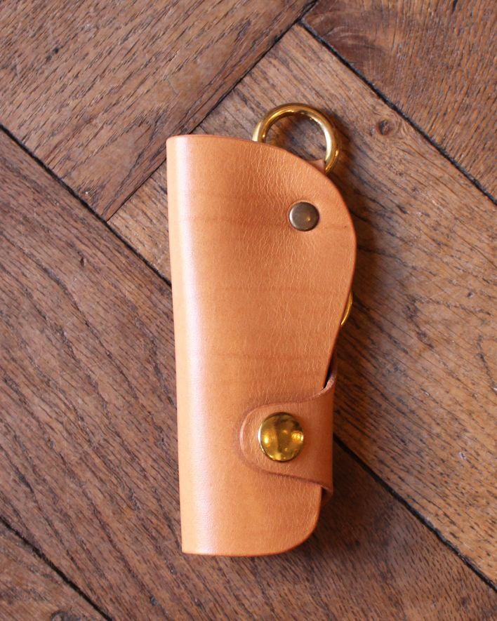 Red's Leather Schlüsseletui Japan nature_1
