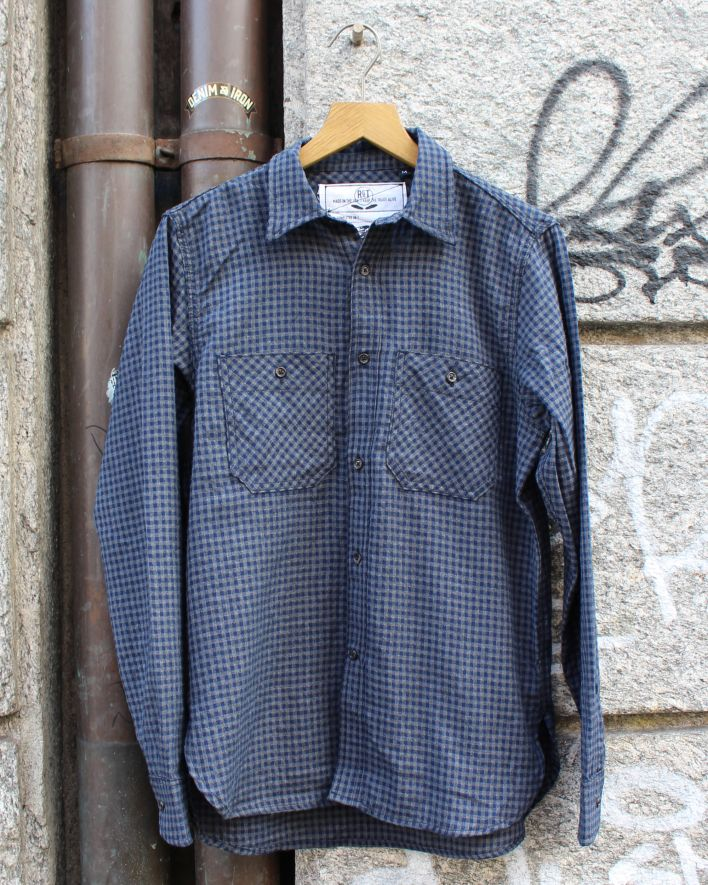 Rogue Territory BM Work Shirt Gingham_1