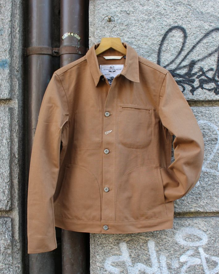 Rogue Territory Supply Jacket copper canvas_1