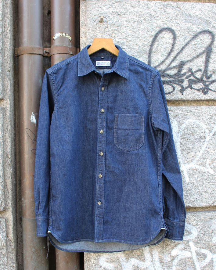 Rogue Territory Traveler Shirt denim rinsed_1