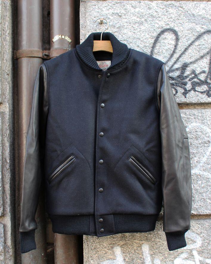 Dehen Varsity College Jacket black_2