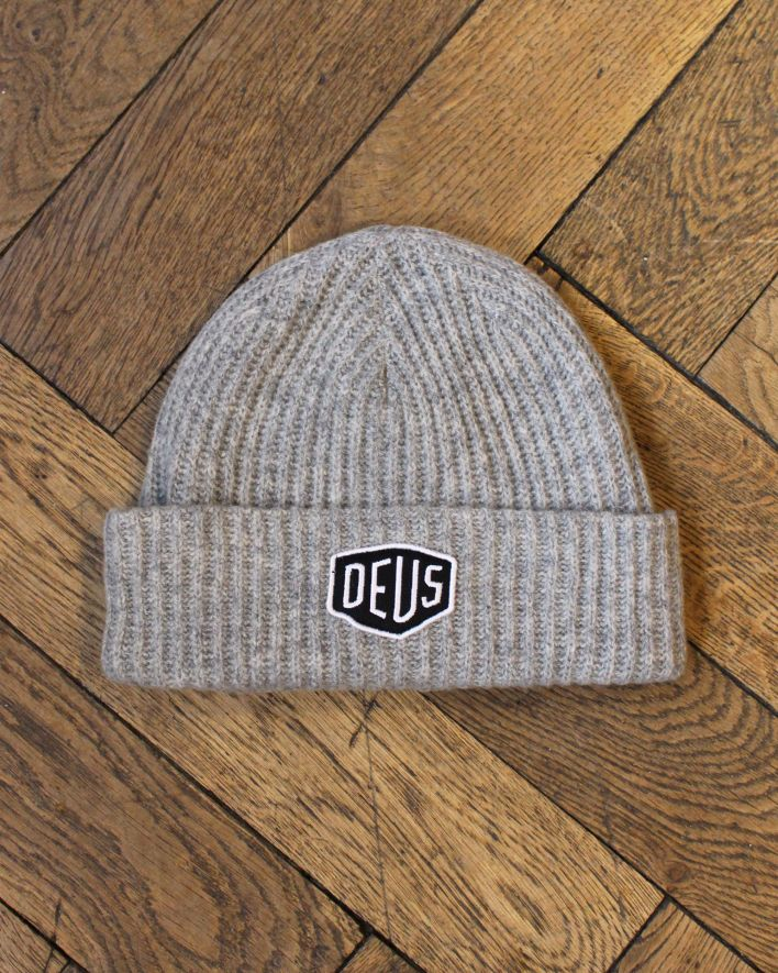 Deus Shield Beanie grey_2