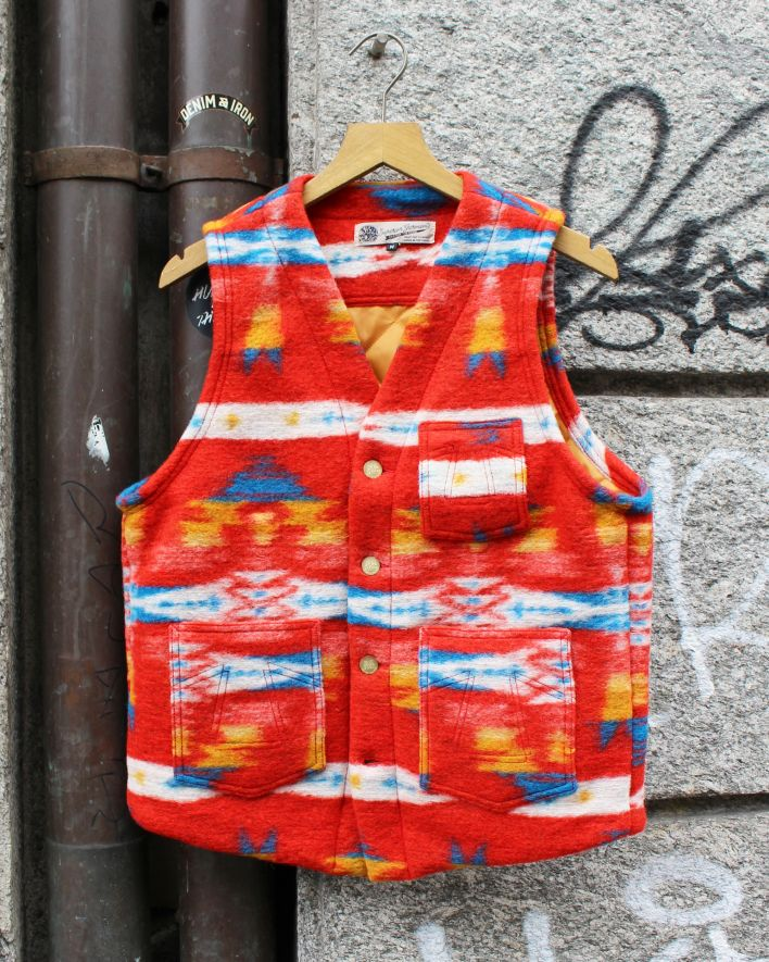 Eat Dust Cali Vest Apache Blanket multicolor_1