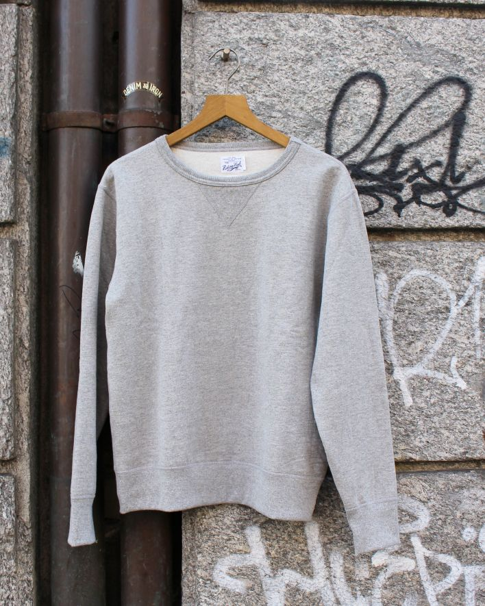 Riding High_Standard Crew Sweater mix grey_1