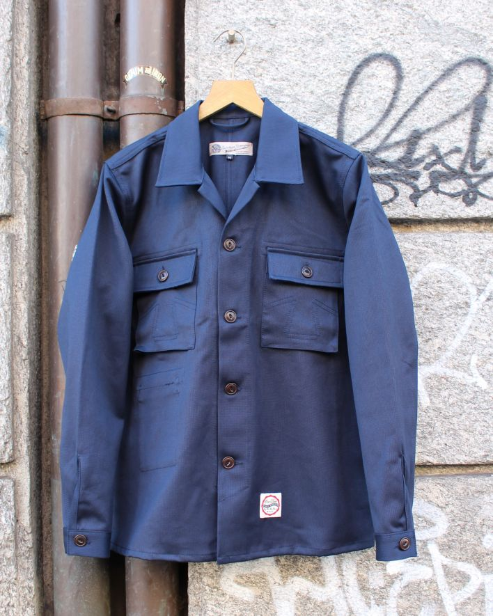 Eat Dust Deck Shirt Jacke bedford navy_1