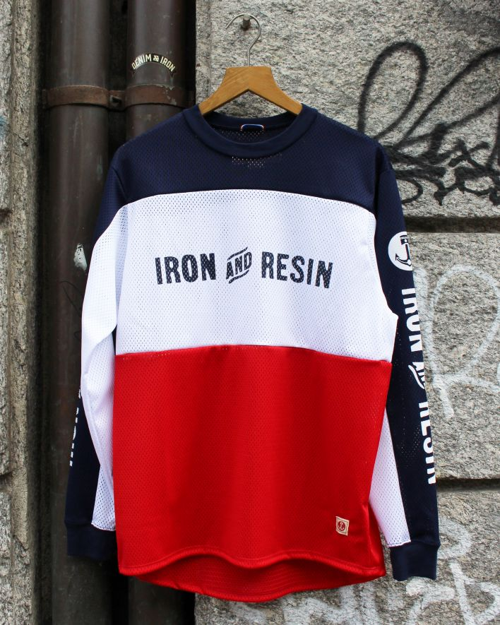 Iron and Resin Nationals Jersey Riding Shirt blau weiss rot_1
