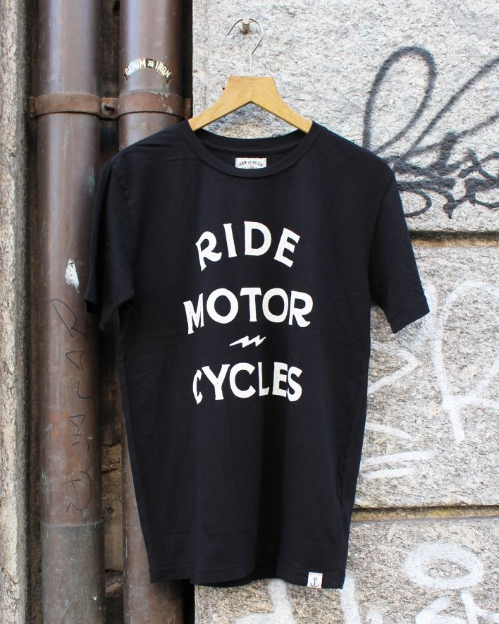 Iron and Resin Ride Motorcycle T-Shirt black_1