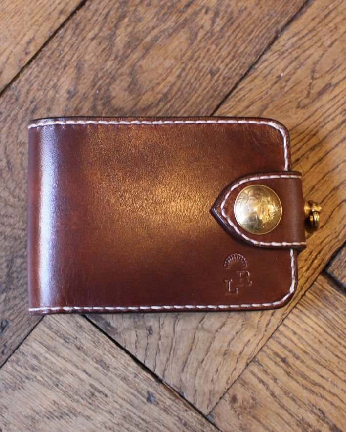 Red's Leather Wallet Citadin brown_1
