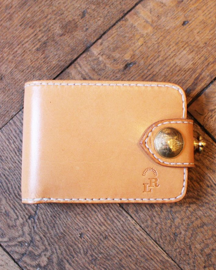 Red's Leather Wallet Citadin nature_1
