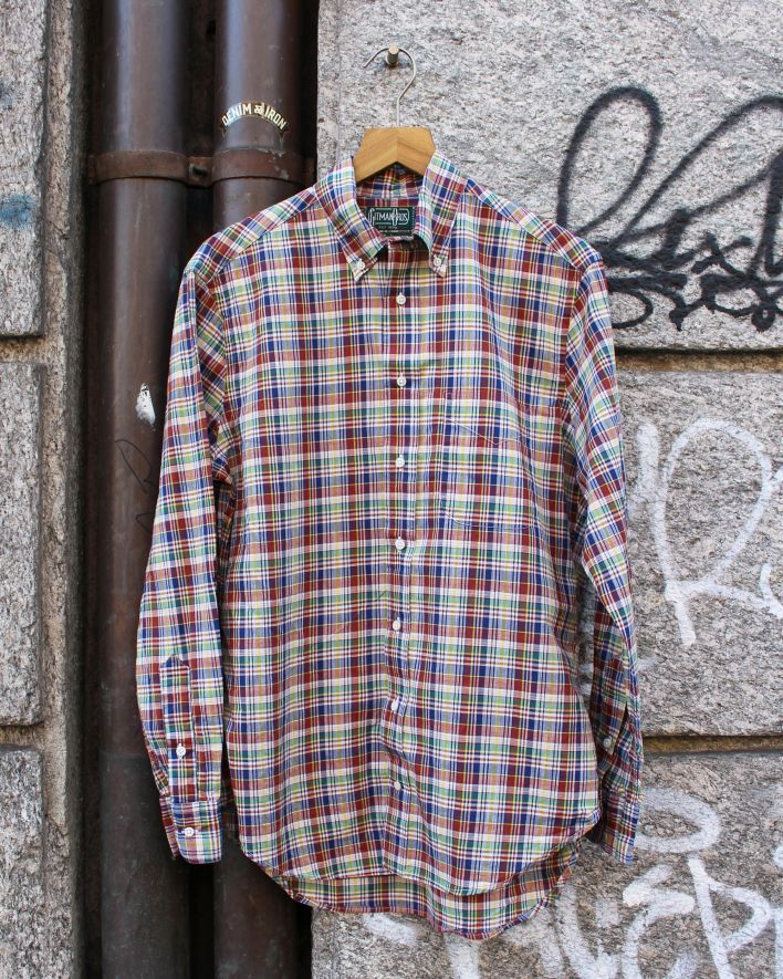 Gitman Vintage Archive madras Shirt_1
