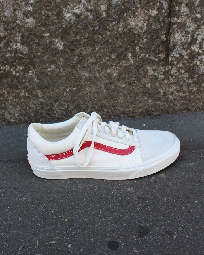 Vans Old Skool Sneaker vintage roccoco red_1