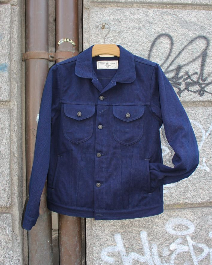 Rogue Territory Type 3 Jacket Sashiko Wave indigo_1