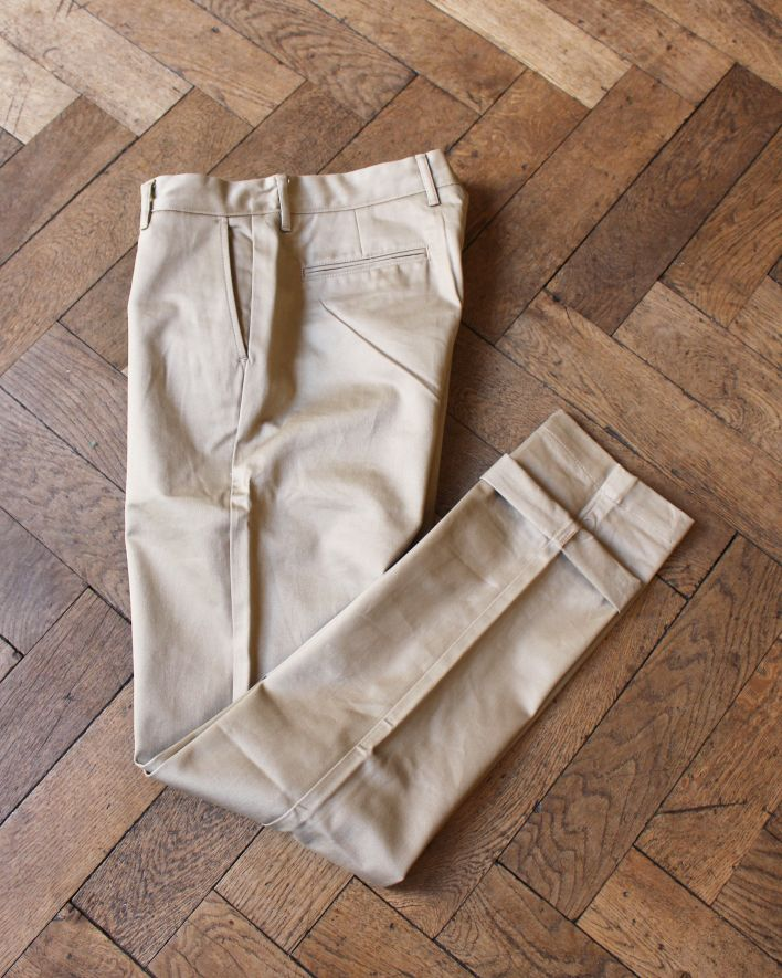 Tellason Carlisle Twill Chino Tapered fit khaki_1
