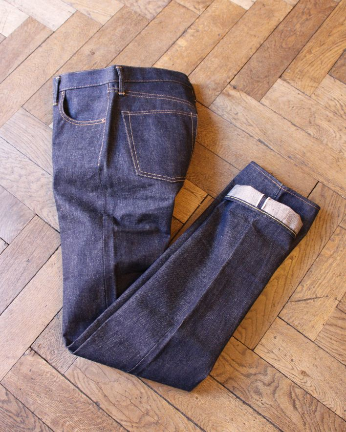 UES 400-T Tapered Fit 14.9oz Zimbabwe Cotton Denim_1