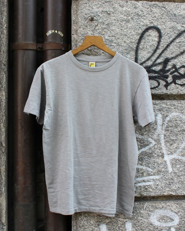 Velva Sheen Rolled T-Shirt grey_1