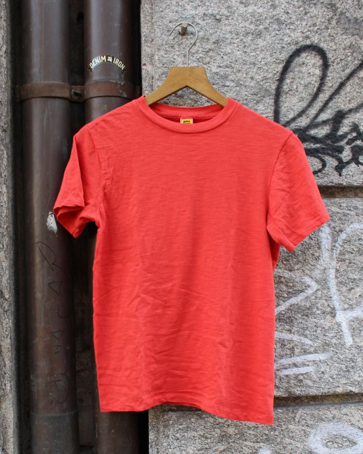 Velva Sheen Rolled Tee red_1
