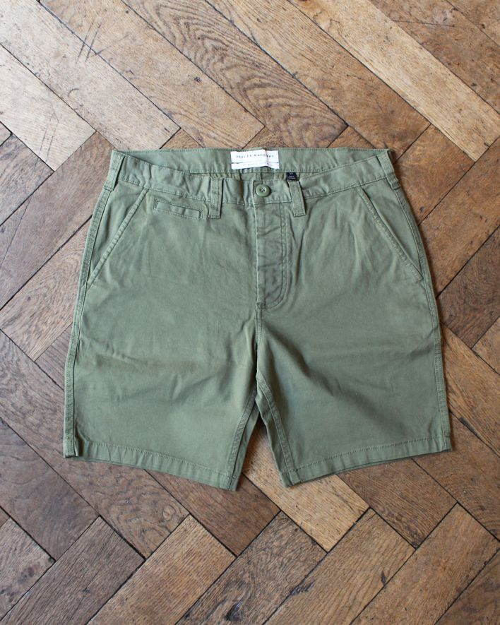 Deus Floyd Chino Short army green_1
