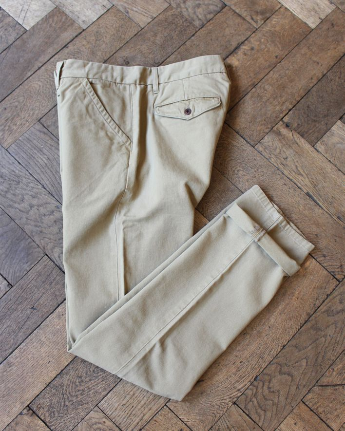 Freenote Workers Chino Slim Straight khaki_1