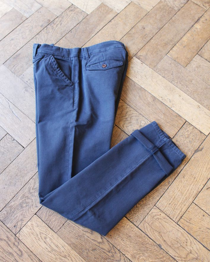 Freenote Workers Chino Slim Straight navy_1