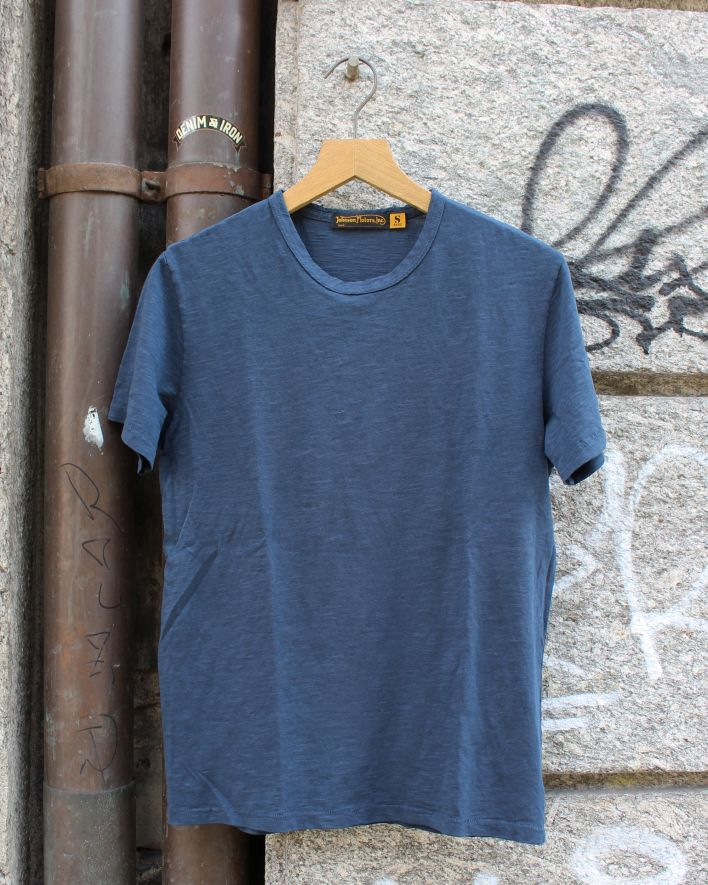 Johnson Motors Blank T-Shirt dead navy_1