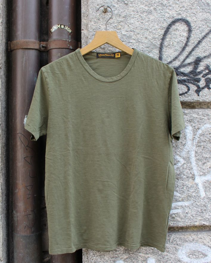 Johnson Motors Blank T-Shirt olive drab_1