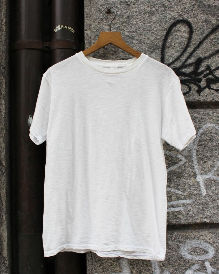 Velva Sheen Rolled T-Shirt white_2