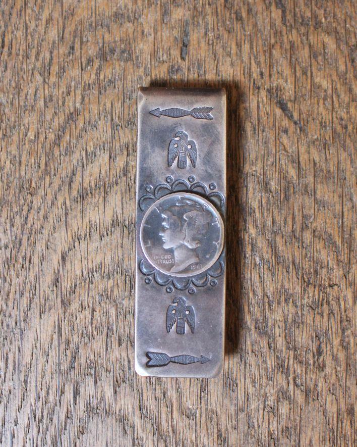 Red Rabbit Money Clip Coin silver_1