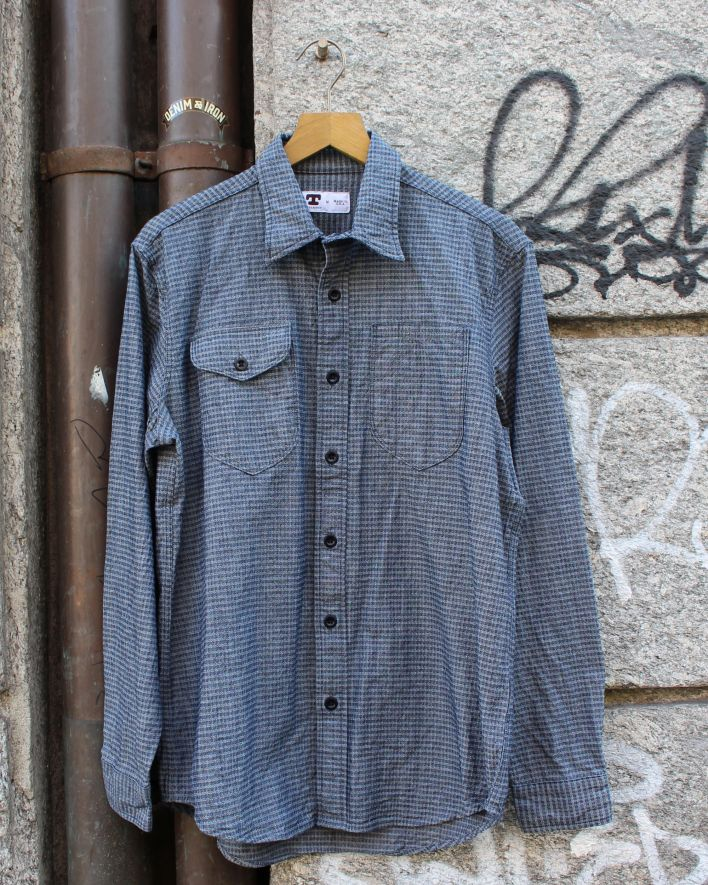 Tellason_Two Pocket Dobby Shirt_1