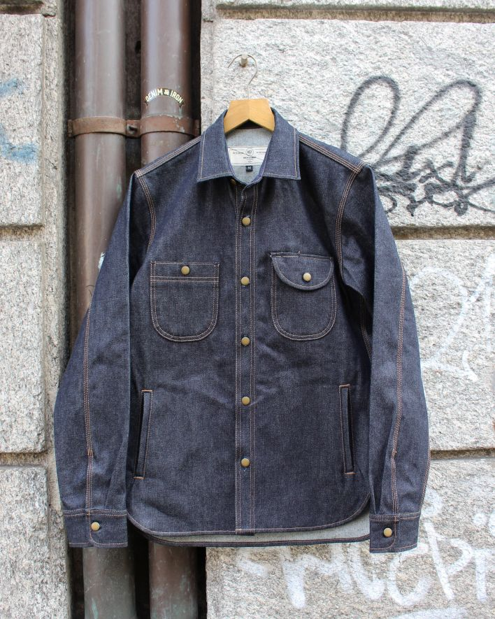 Rogue Territory Service Jacket 15 oz raw_2
