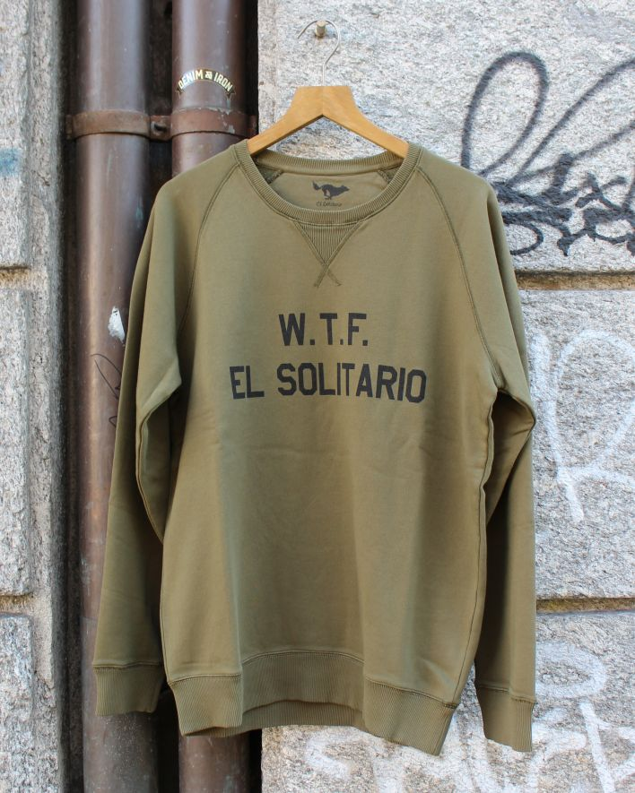 El Solitario WTF Sweater olive new_1