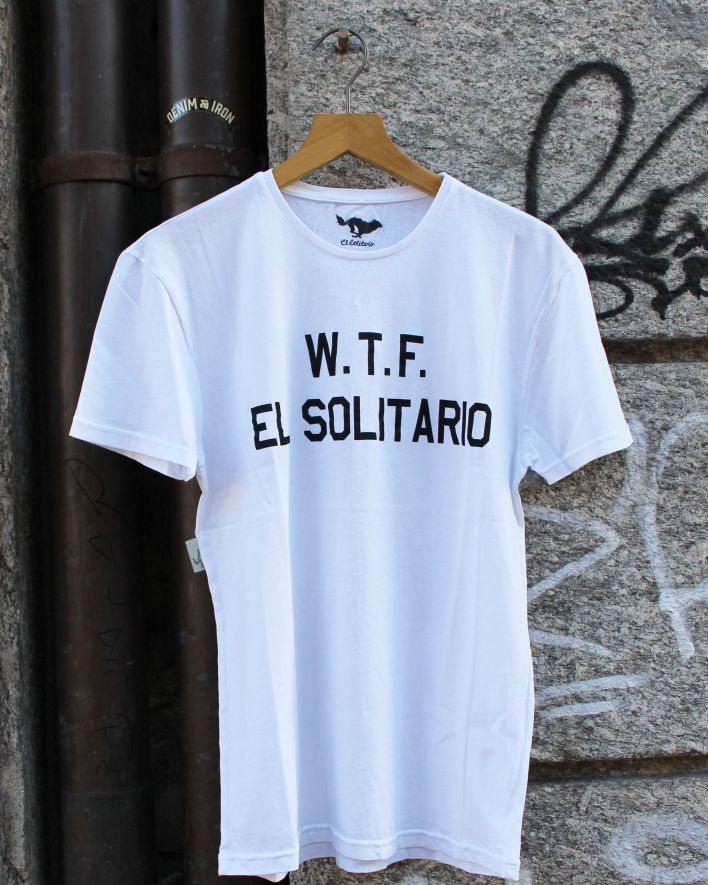 El Solitario WTF T-Shirt white_1