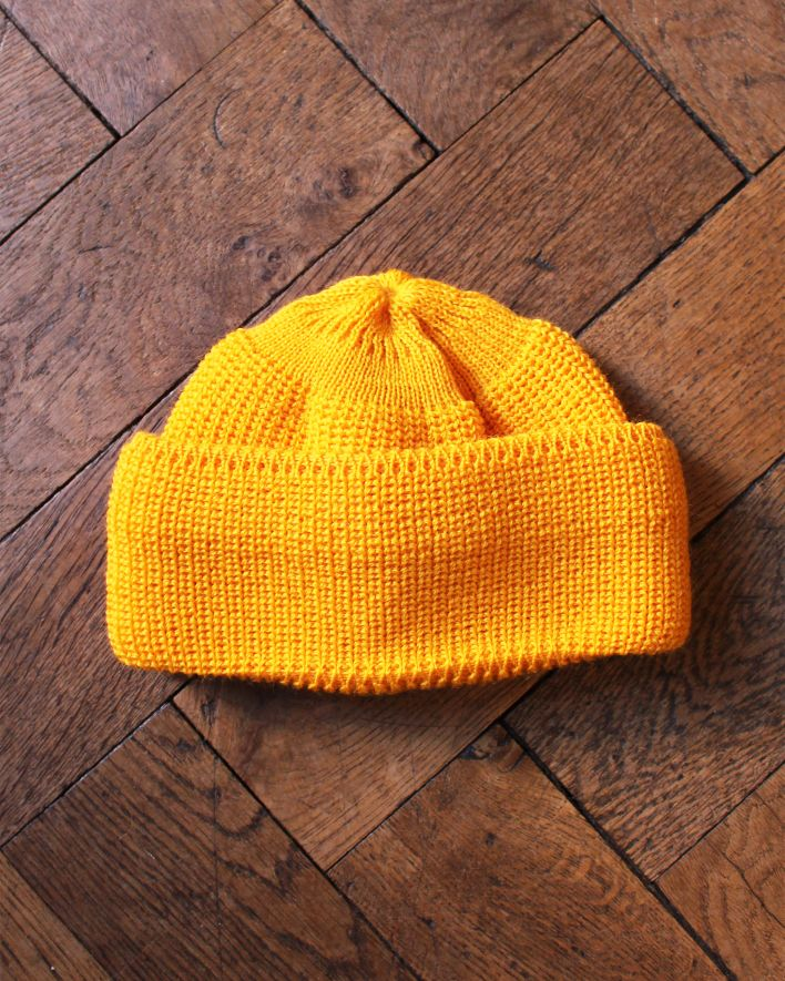 Heimat Mechanics Hat Wool golden