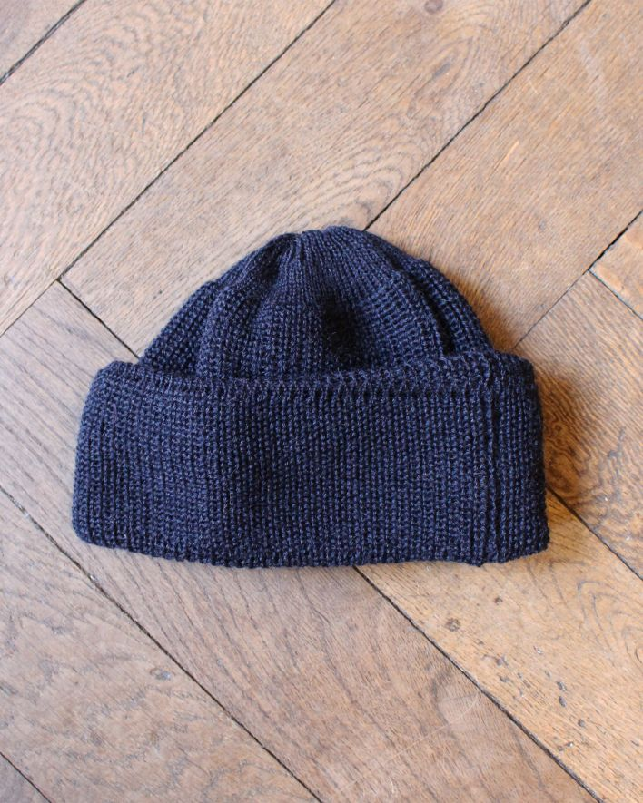 Heimat Mechanics Hat Wool navy