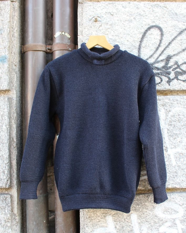 Heimat Mini Roll Neck Sweater navy_1