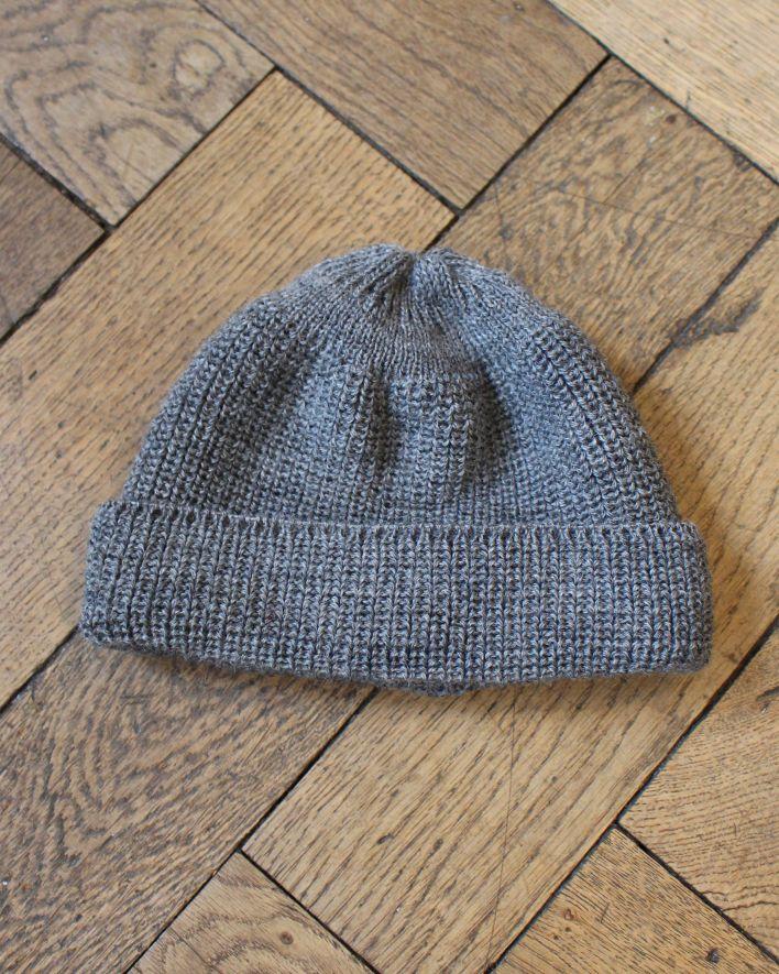 Heimat Trawler wool beanie grey_1