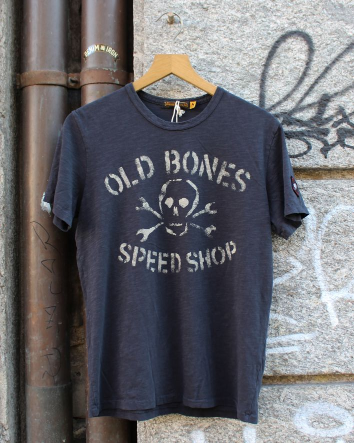 Johnson Motors Old Bones Speed Shop vintage black_1