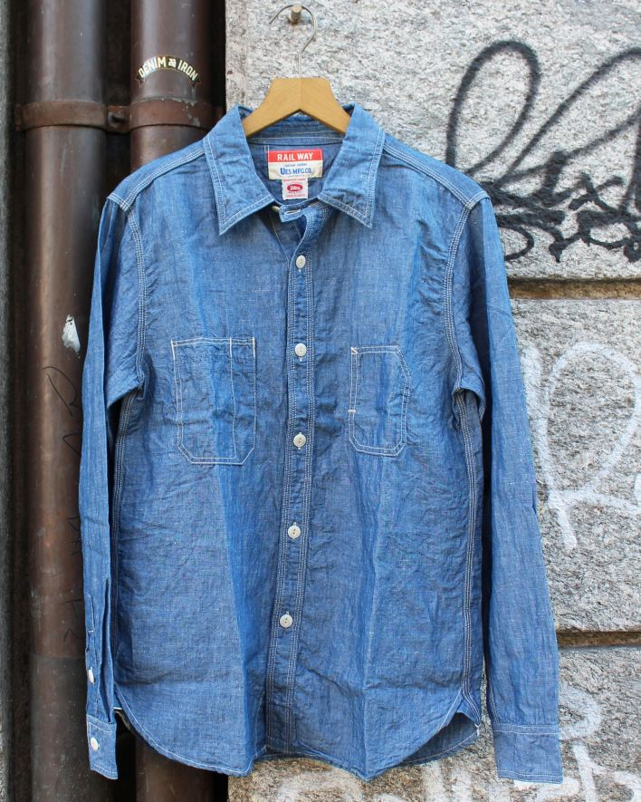UES Work Shirt Chambray_1