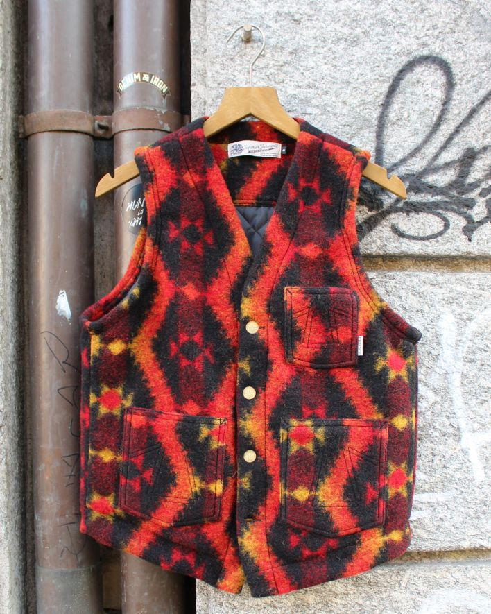Eat Dust Cali Vest Native Blanket Wool multicolor_1