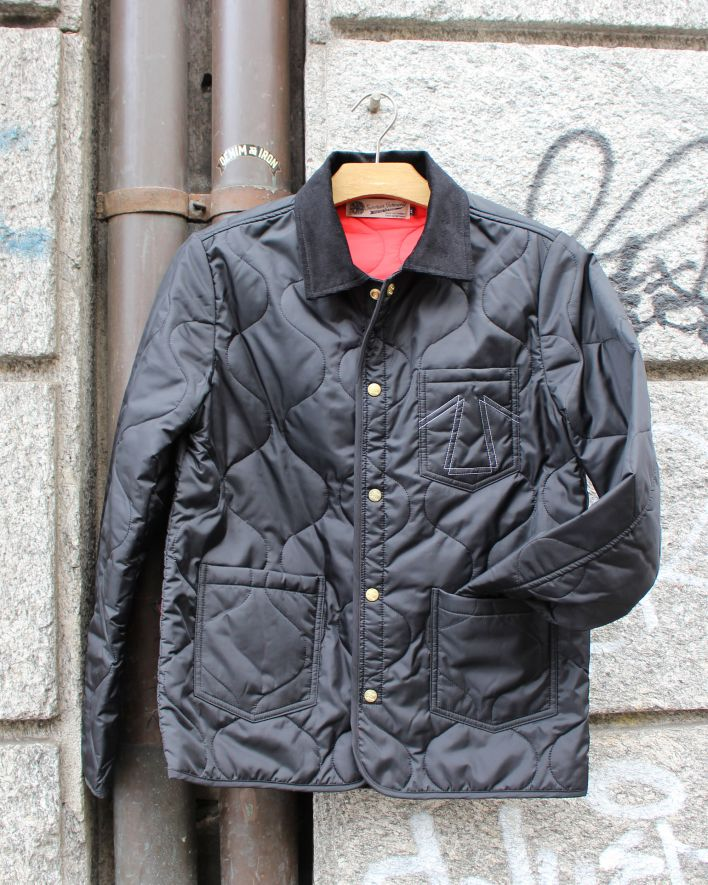 Eat Dust Frostbite Rider Jacket quilted black_1