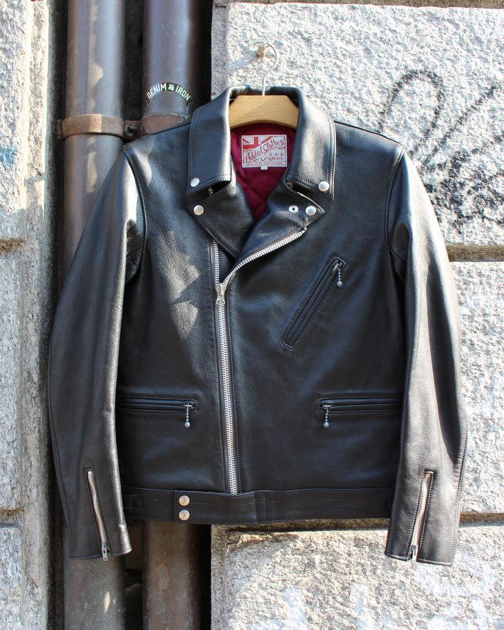 Addict AD-03 Asymmetry Jacket Sheepskin black_1.1
