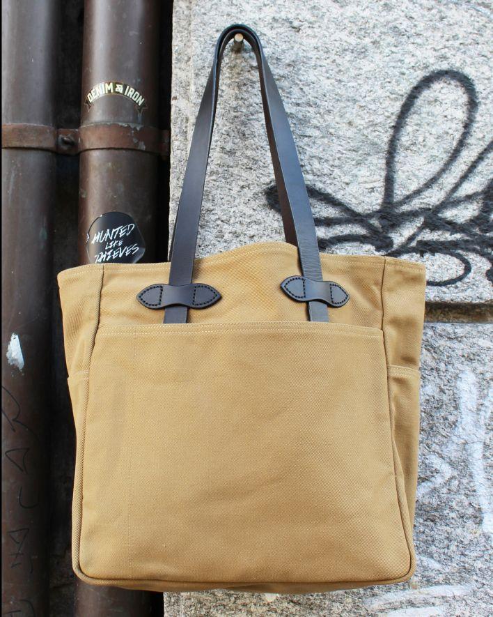 Filson Tote Bag Twill tan_1