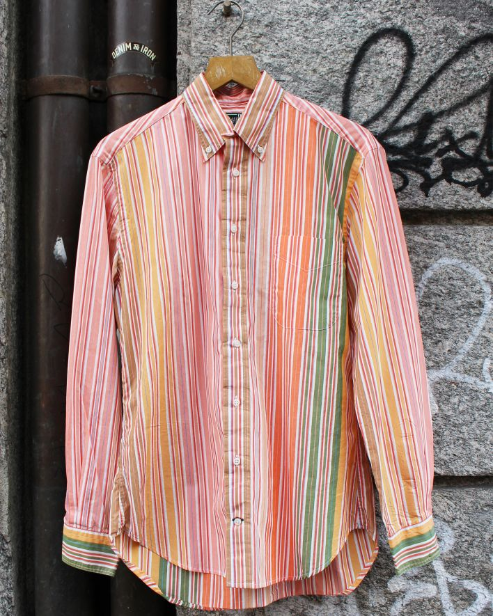Gitman Vintage Multistripe orange_1
