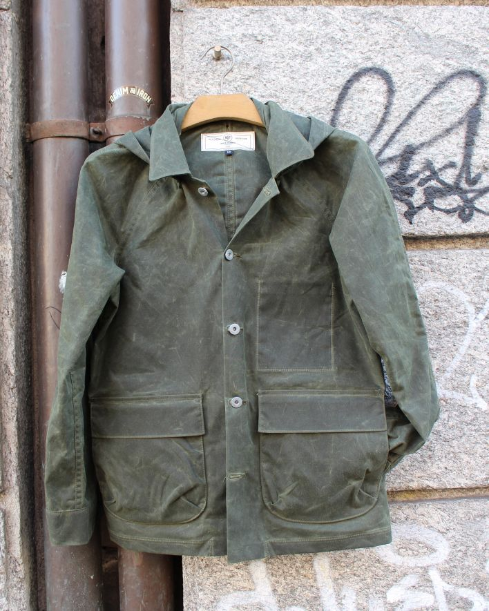 Rogue Territory Explorer Jacket waxed cotton olive_1