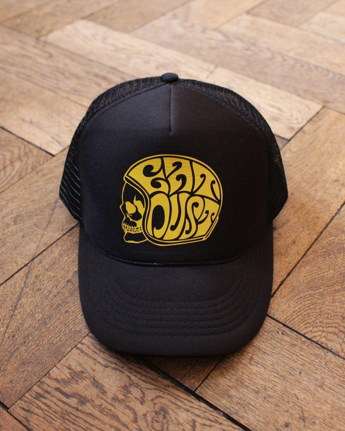 Eat Dust X Trucker Skull Cap black_1