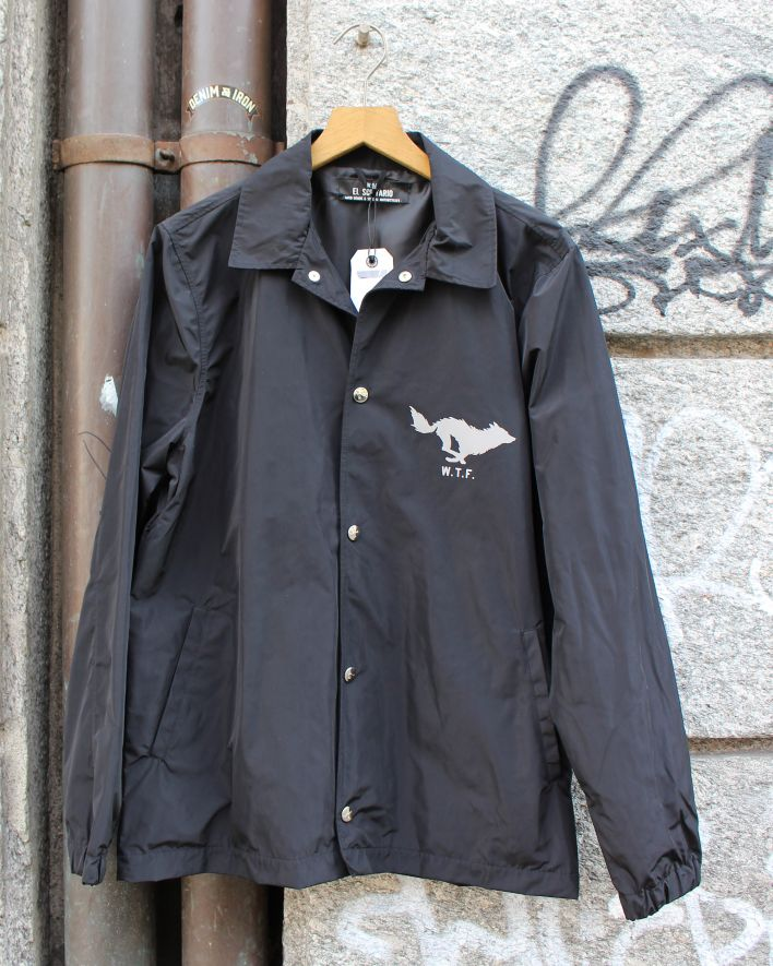 El Solitario Hong Coach Jacket black_1
