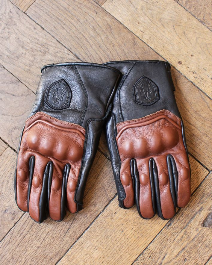 Abel Brown Raceway Glove brown black_1