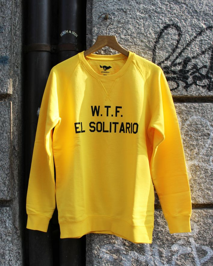 El Solitario WTF Sweater yellow_1